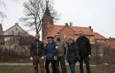 Odkrywcy: od lewej Krzysztof Kępiński, Sylwia Zielińska, Sebastian Zieliński, Krystyna Plebańska, Piotr Pilewski.